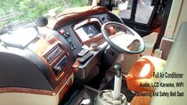 bus bali interior exterior full ac